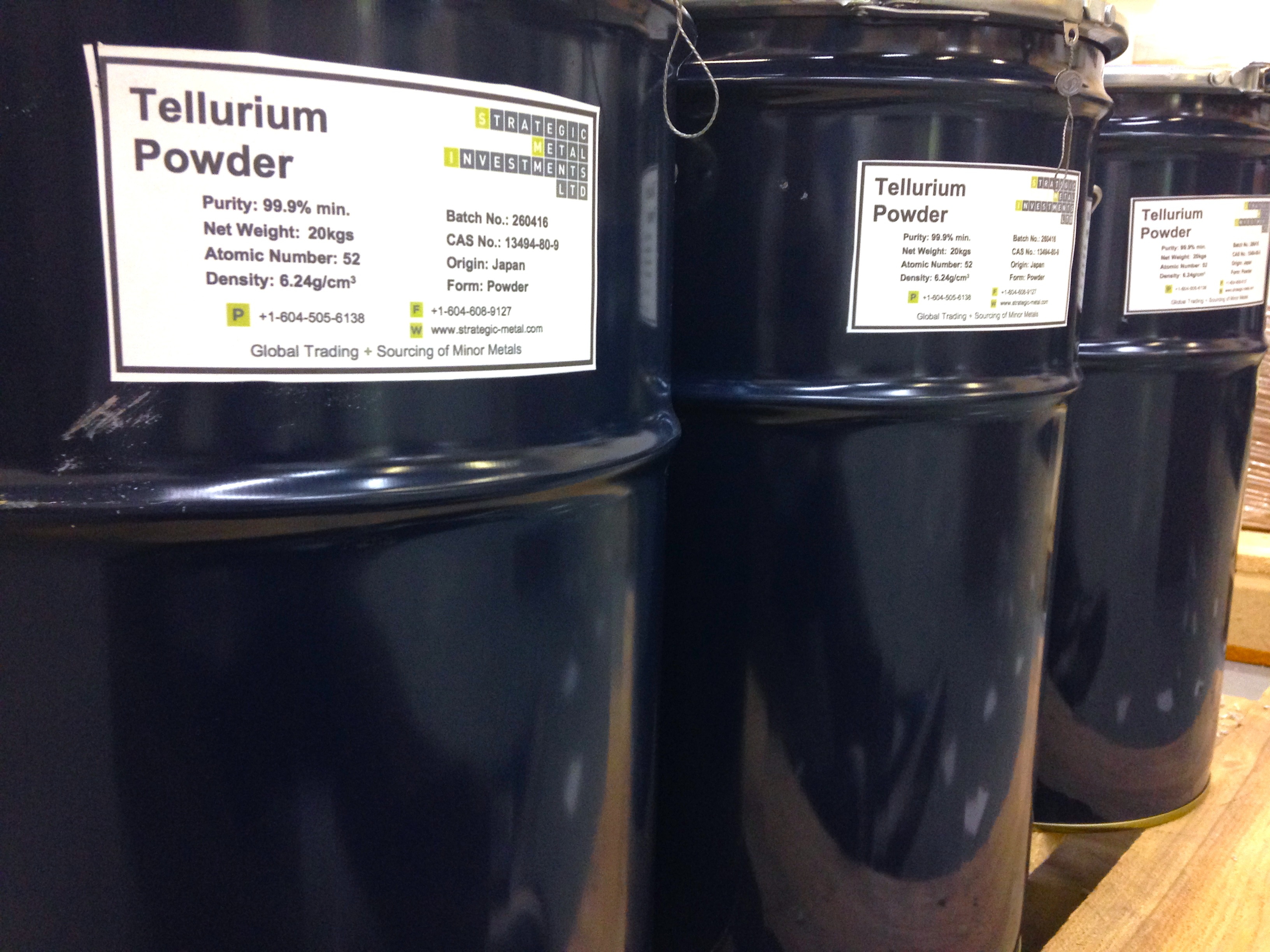 tellurium powder